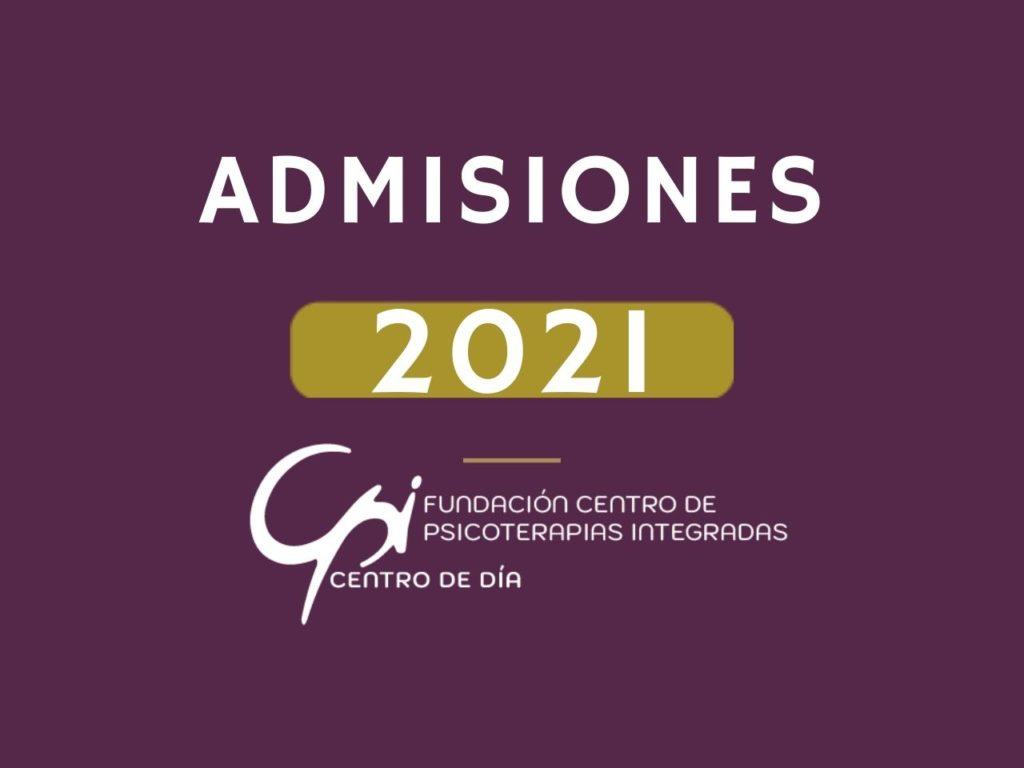 Admisión de nuevos concurrentes al Centro de Día 2021