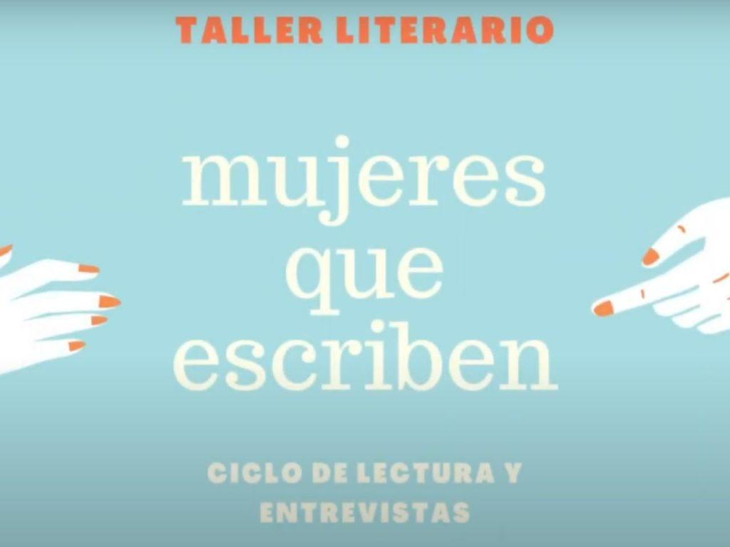 Taller literario: mujeres que escriben